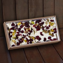 Cranberry Pistachio Bark 12 oz.