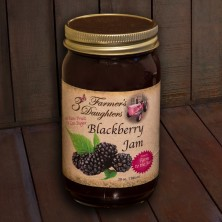 3 Farmer's Daughters Blackberry Jam