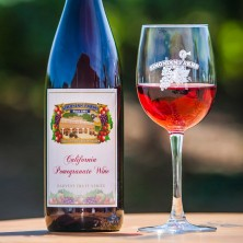 Simonian Pomegranate Fruit Wine - Only Sold In Store
